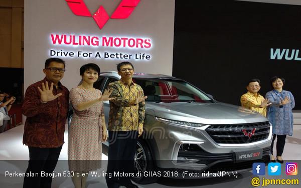 GIIAS 2018: Wuling Kenalkan Baojun 530 Colek Honda CR-V - JPNN.com