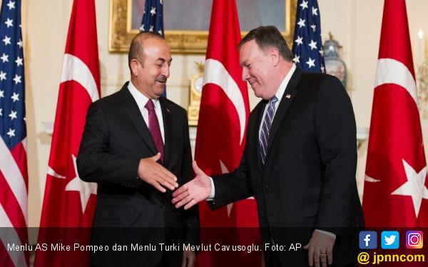 Hubungan Memanas, Menlu AS dan Turki Bertemu di Singapura - JPNN.COM