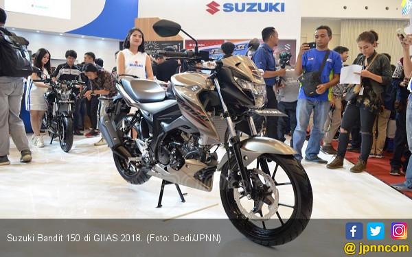 Giias 2018 Harga Suzuki Bandit Beda Tipis Dari Gsx S150 Otomotif