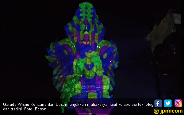 Garuda Wisnu Kencana dan Epson Kolaborasi Mahakarya - JPNN.COM