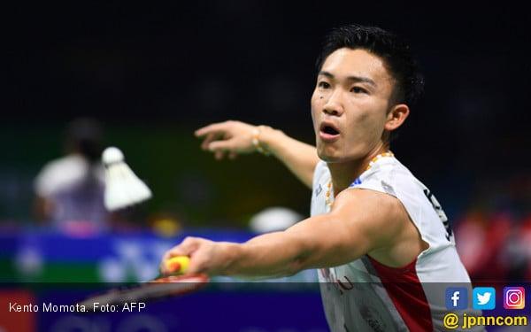 Indonesia Masters 2019: Kento Momota Taklukkan Jan O Jorgensen