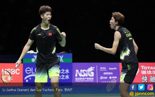 Lihat! Duet Tiang Listrik Tutup 8 Besar Singapore Open 2019 dengan Luar Biasa - JPNN.com