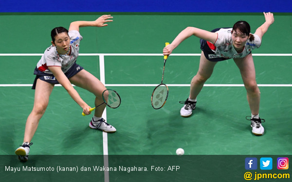 Mayu Matsumoto / Wakana Nagahara jadi Finalis Pertama All England 2019 - JPNN.com