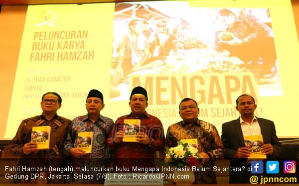 Fahri Luncurkan Buku Mengapa Indonesia Belum Sejahtera? - JPNN.COM