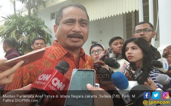 Pascagempa Lombok, Arief Yahya: Kemenpar Fokus pada Tiga Hal - JPNN.com