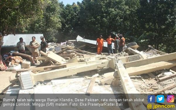 Sudah 576 Gempa Susulan di NTB, Warga Diminta Tetap Tenang - JPNN.COM