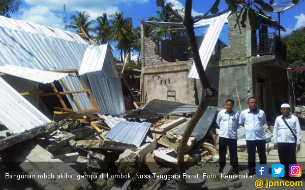 Tanggap Darurat Gempa Lombok Diperpanjang - JPNN.COM