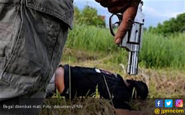Polisi Tembak Mati Dua Begal Sadis di Medan - JPNN.COM