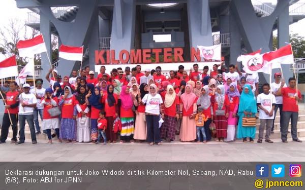 Ucapan Terima Kasih untuk Jokowi dari Titik Kilometer Nol - JPNN.COM