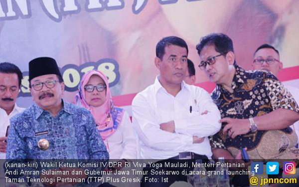 PDB Pertanian Melesat, DPR Apresiasi Kerja Menteri Amran - JPNN.COM