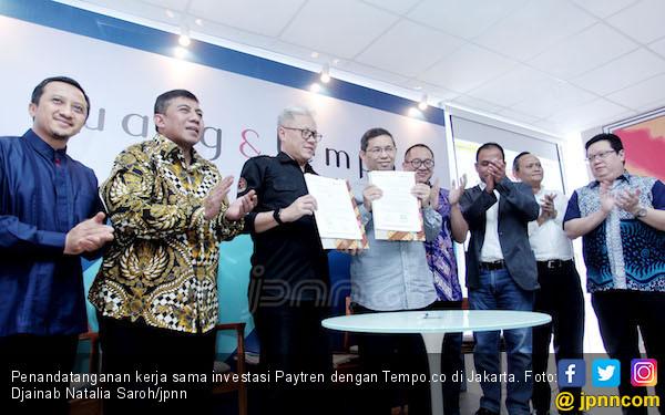 Paytren Beli Saham Tempo.co, Ustaz Yusuf Mansur: Bismillah - JPNN.COM