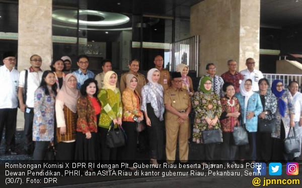 Komisi X Apresiasi Muatan Lokal dalam Pendidikan di Riau - JPNN.COM
