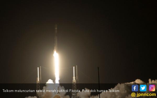 Satelit Merah Putih Berhasil Diluncurkan di Florida - JPNN.COM