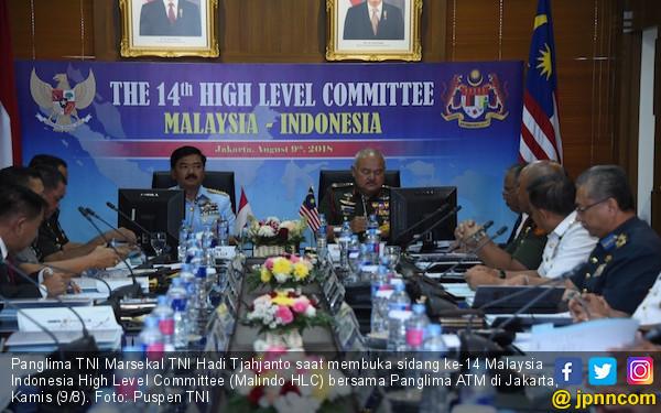 TNI dan Tentara Malaysia Komitmen Menjaga Kawasan ASEAN - JPNN.com