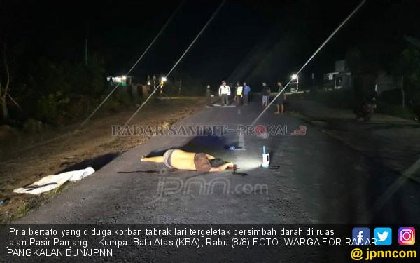 Warga Biarkan Pria Bertato Mati Bersimbah Darah di Jalan - JPNN.COM