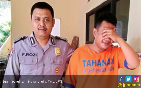 Larang Suami Ngopi, Istri Dipukul Sampai Bonyok - JPNN.COM