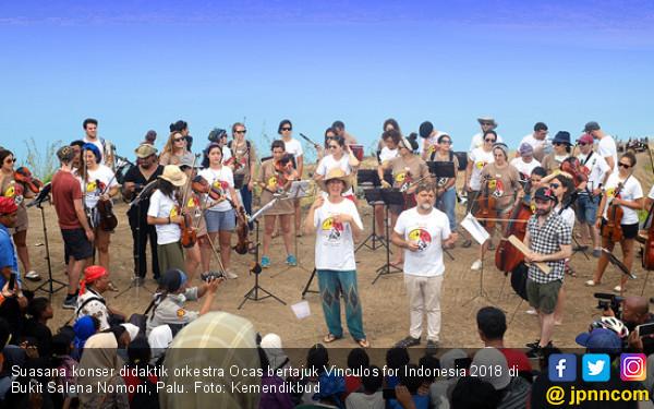 Konser Orkestra Ocas di Palu Sangat Meriah - JPNN.COM
