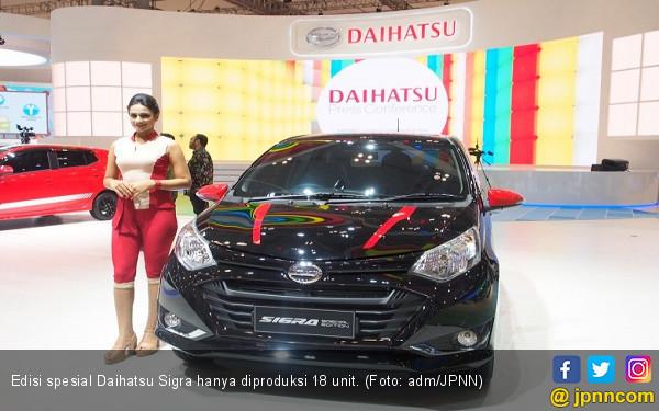 Buruan, Edisi Spesial Daihatsu Sigra Cuma 18 Unit - JPNN.COM