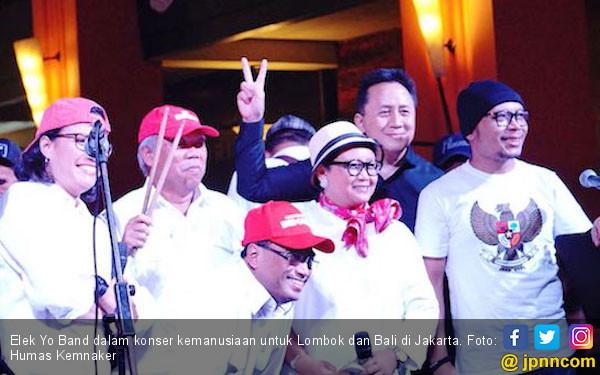 Elek Yo Band Kumpulkan Rp 2,2 Miliar di Konser Kemanusiaan - JPNN.COM