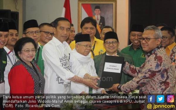 Resmi Didaftarkan di KPU, Jokowi Siap Adu Gagasan & Prestasi - JPNN.COM