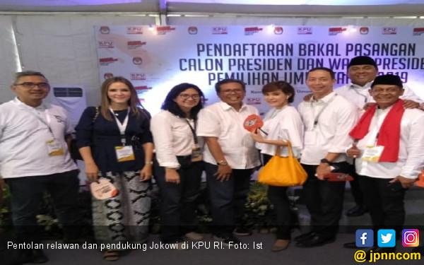 Relawan Buruh: Jokowi - Kiai Ma'ruf Saling Mengisi - JPNN.COM