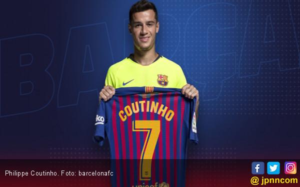 Philippe Coutinho Dapat Nomor yang Sebenarnya Buat Griezmann - JPNN.COM