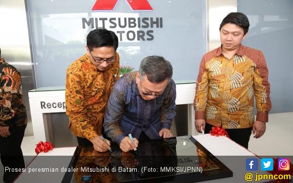 Gara-gara Xpander, Ekspansi Mitsubishi Sampai ke Batam - JPNN.COM