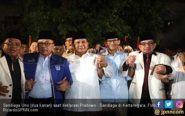 Ini Dia, Janji Manis Pertama Prabowo - Sandi - JPNN.COM
