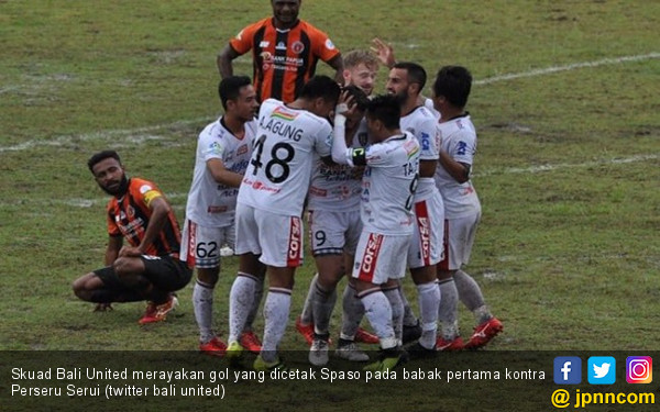 Bali United Bikin Kandang Perseru Tak Angker Lagi - JPNN.COM