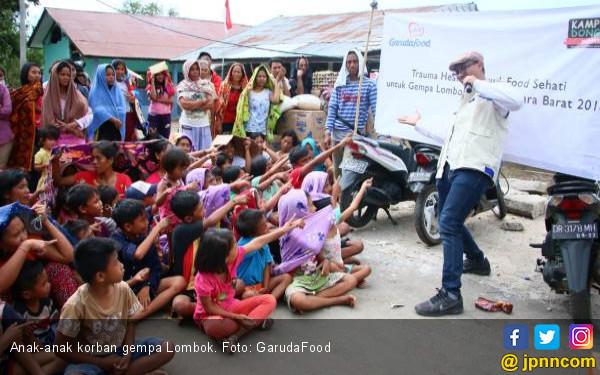 Anak Korban Gempa Lombok Harus Tetap Terpenuhi Pendidikannya - JPNN.COM
