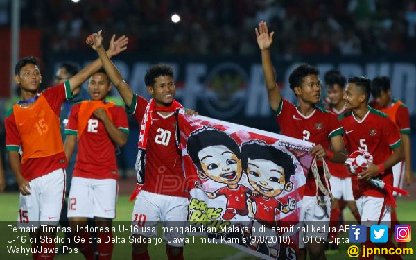 Final Piala AFF U-16 Indonesia vs Thailand: Dua Tim Perkasa - JPNN.COM