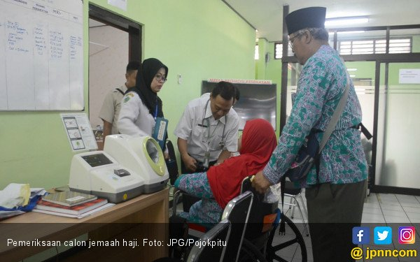 Jemaah Haji Indonesia Diimbau Memakai Masker Pelindung - JPNN.COM