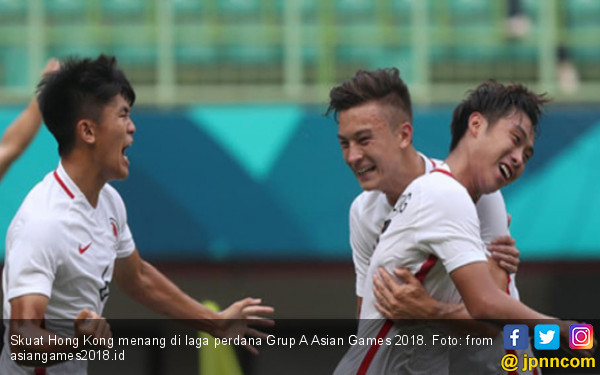 Menang Atas Laos, Hong Kong Pimpin Grup A Asian Games 2018 - JPNN.COM