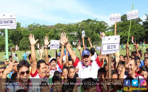Piala Menpora U-12 Zona Sumut: Moga Lahir Egi Maulana Baru - JPNN.COM