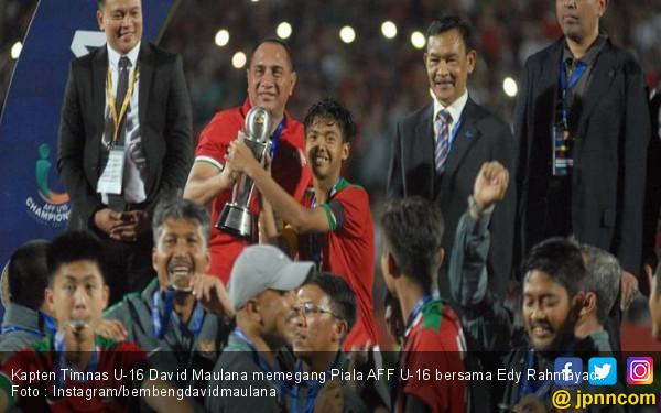 Timnas Juara Piala AFF U-16, Ini Pesan Ketum PSSI - JPNN.COM