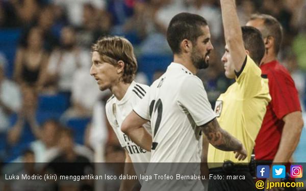Luka Modric Disambut bak Pahlawan di Santiago Bernabeu - JPNN.COM
