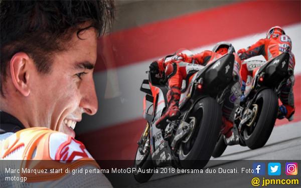 MotoGP Austria: Marc Marquez Pole, Rossi Catat Rekor Buruk - JPNN.COM