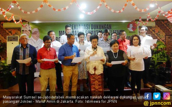 Masyarakat Sumsel se-Jabodetabek Dukung Jokowi 2 Periode - JPNN.COM