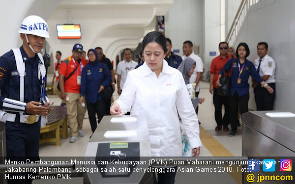 Menko Puan: Kesiapan Asian Games 2018 Mencapai 99 Persen - JPNN.COM
