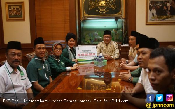 Saweran PKB untuk Gempa Lombok Terkumpul Rp 359 Juta - JPNN.COM