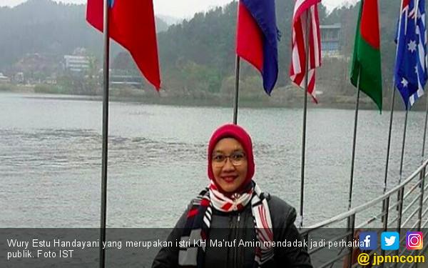 Sosok Istri Ma'ruf Amin Jadi Sorotan Publik - JPNN.COM