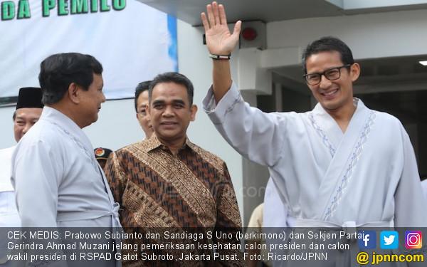 Kubu Prabowo - Sandi Belum Satu Suara soal Tim Pemenangan - JPNN.COM