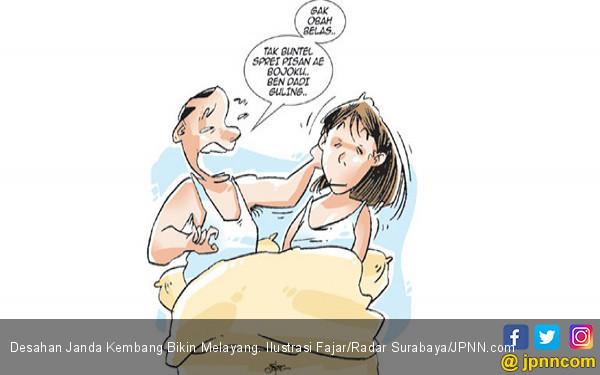 Desahan Janda Kembang Bikin Melayang - JPNN.COM