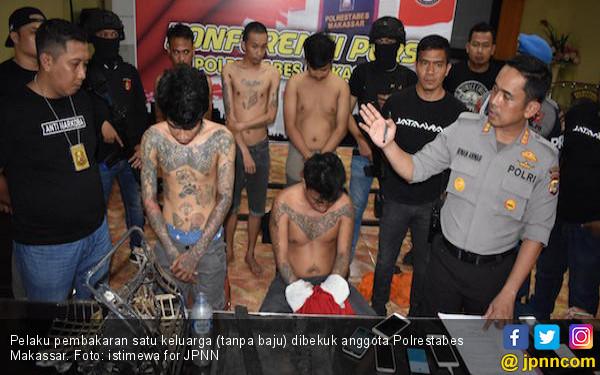 Polisi Tangkap Pelaku Pembakaran Sekeluarga di Makassar - JPNN.com