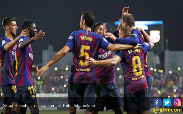 Piala Super Spanyol: Dembele Pastikan Gelar ke-13 Barcelona - JPNN.COM