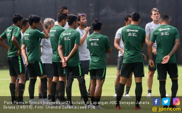 Timnas Indonesia U23 vs Palestina: Lawan Peringkat 99 FIFA  Olahraga JPNN.com