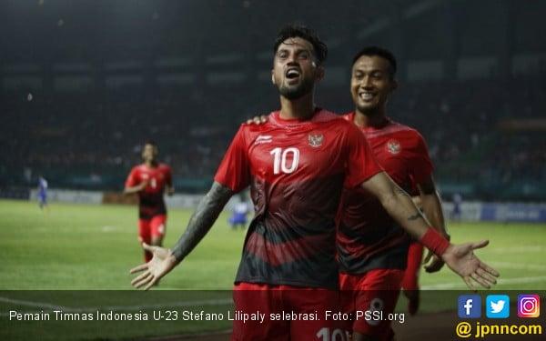 Singapura Vs Indonesia: Stefano Lilipaly Main Dari Awal - JPNN.COM