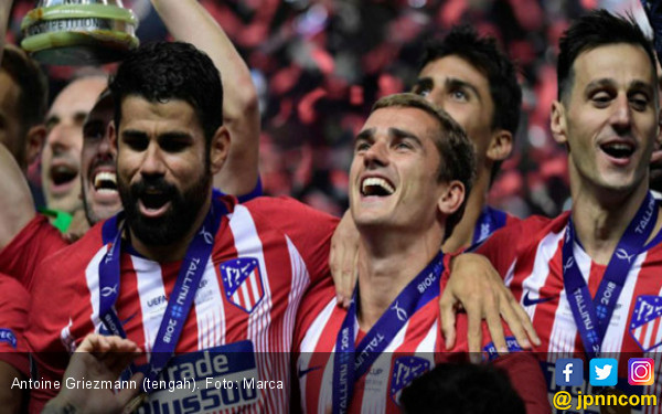 Raih Trofi UEFA Super Cup, Griezmann Singgung soal Barcelona - JPNN.com