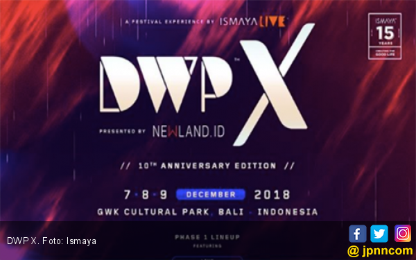 DWP 2019 Kembali Digelar di Jakarta, Ini Jadwalnya... - JPNN.com