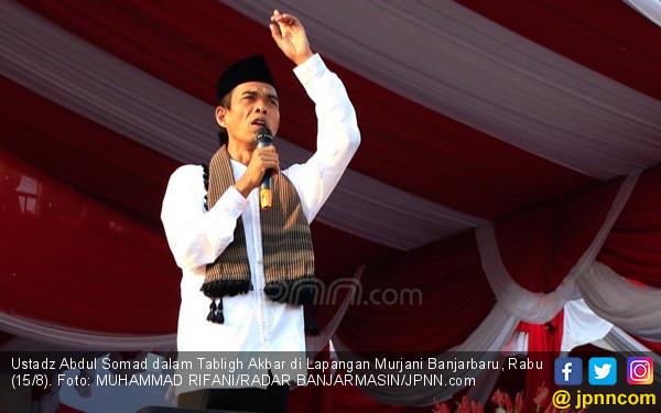 Ustaz Abdul Somad Kirim Video ke Bupati Bangka Tengah, Pastikan Hadir - JPNN.com